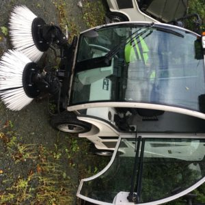City Spider Municipal Sweeper Equipment