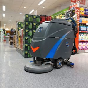 120 Scrubber Dryer